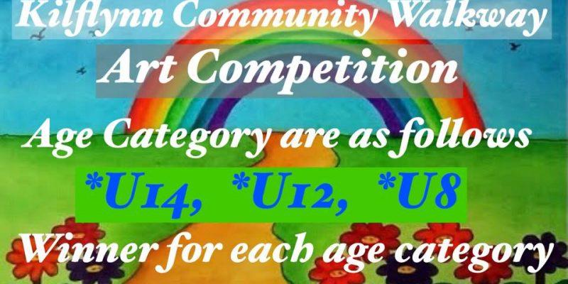 kilflynn community walkwaay art competition
