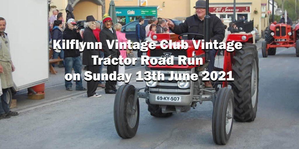 kilflynn vintage tractor run 2021