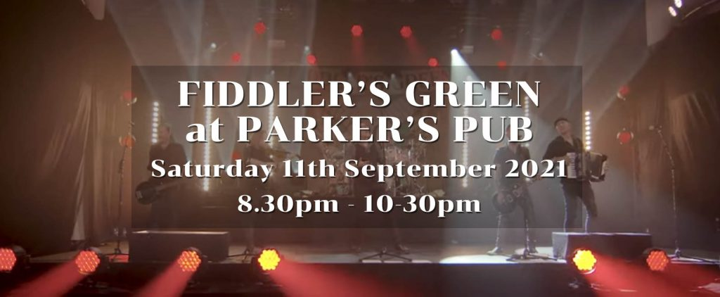 fiddlers green at parkers pub
